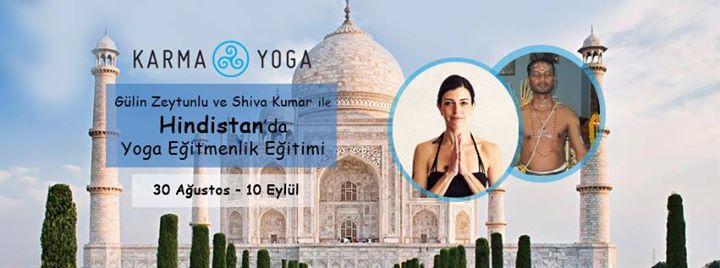 30 Ağutos – 10 Eylül    /   Gülin Zeytunlu – Shiva Kumar ile Hindistan'da EğitmenlikEğitimi